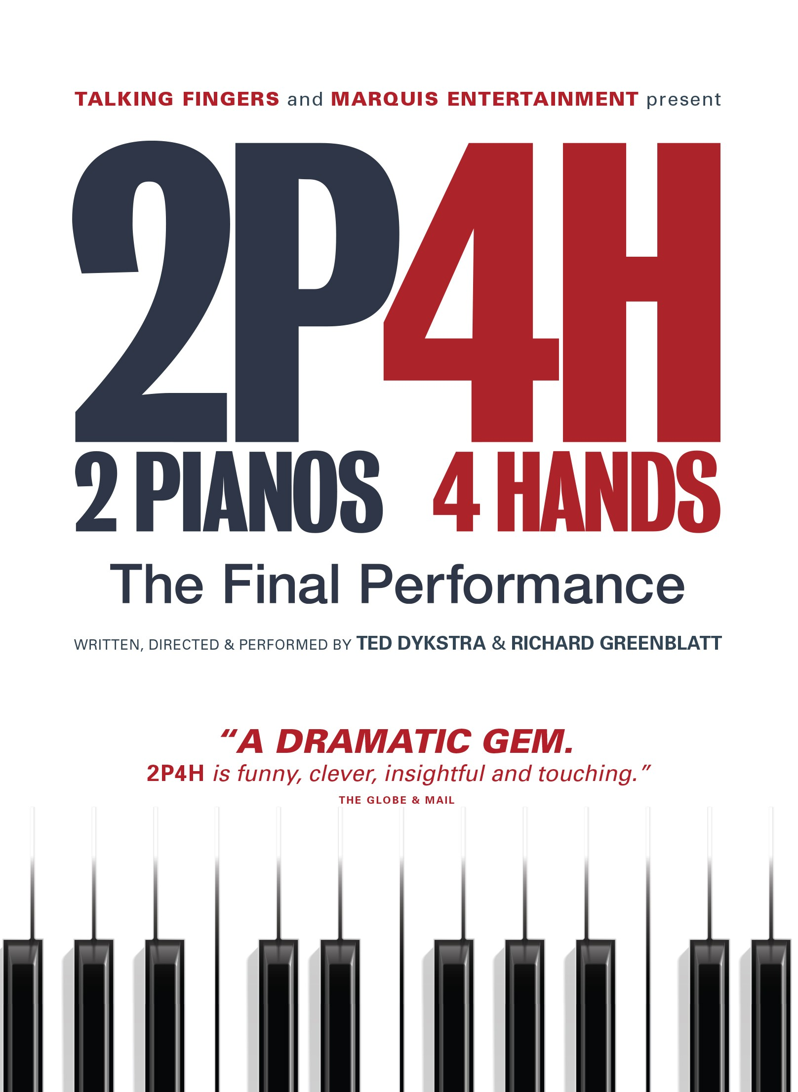 2 Pianos 4 Hands DVD + Book Bundle