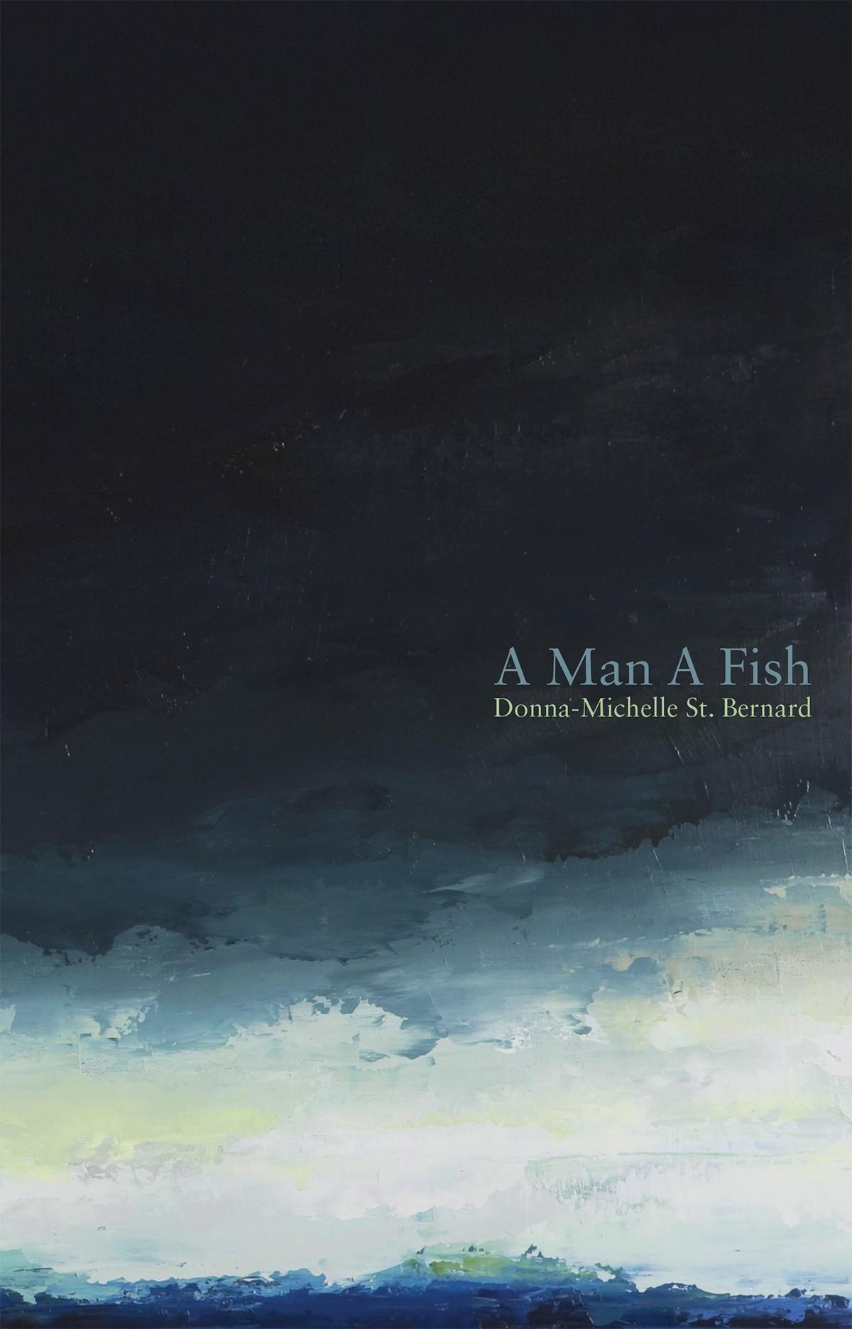 A Man A Fish (print)