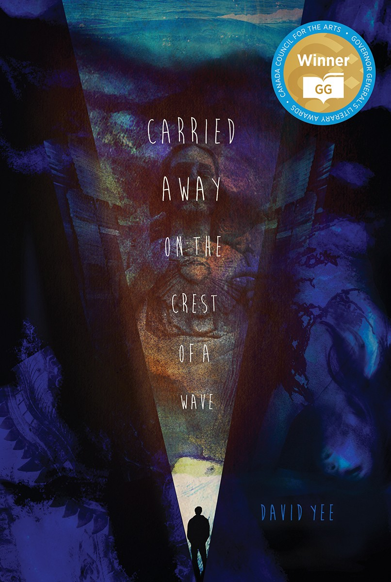 carried away on the crest of a wave (print)