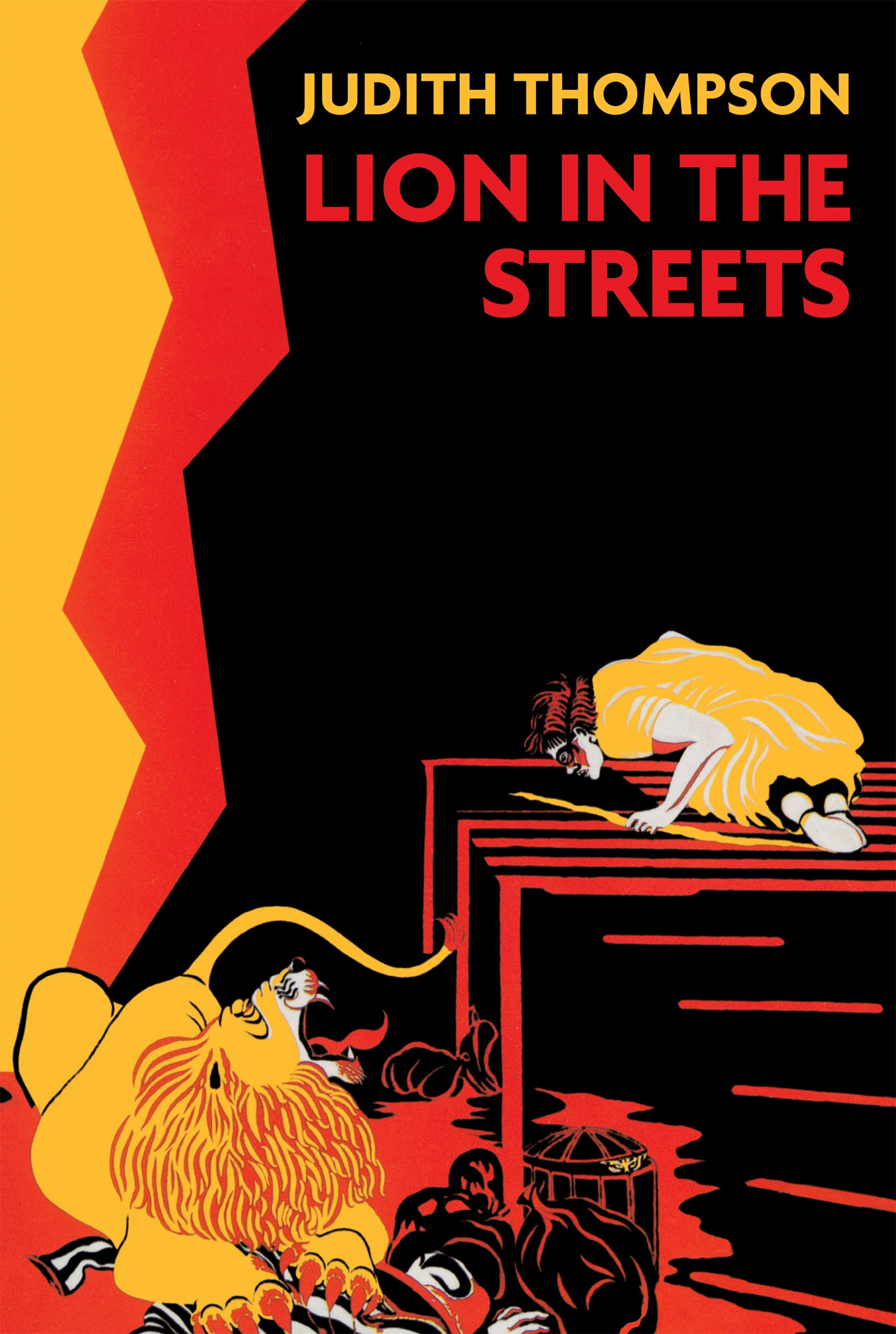 Lion In The Streets (print)