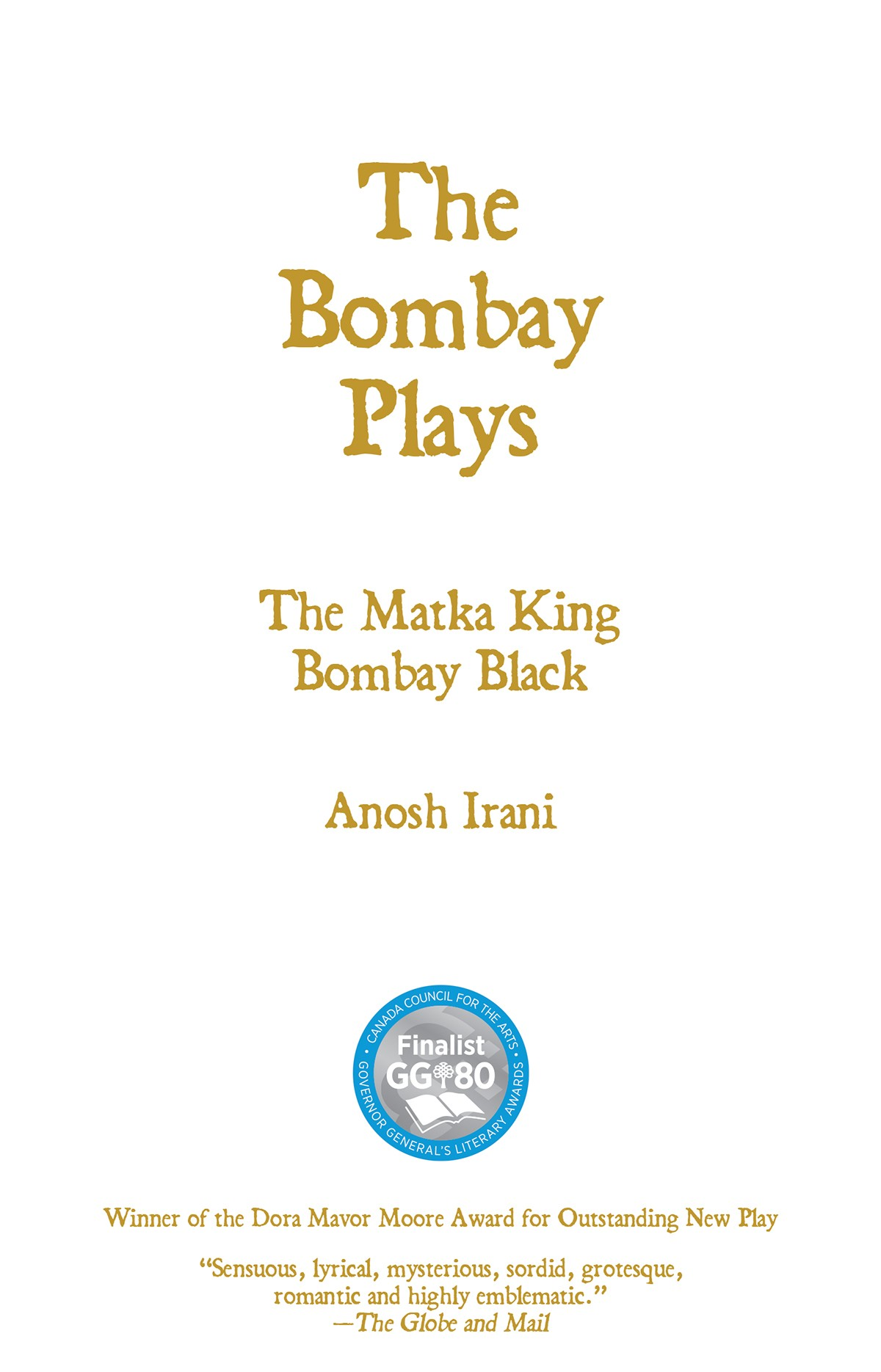 The Bombay Plays, Second Edition (print)