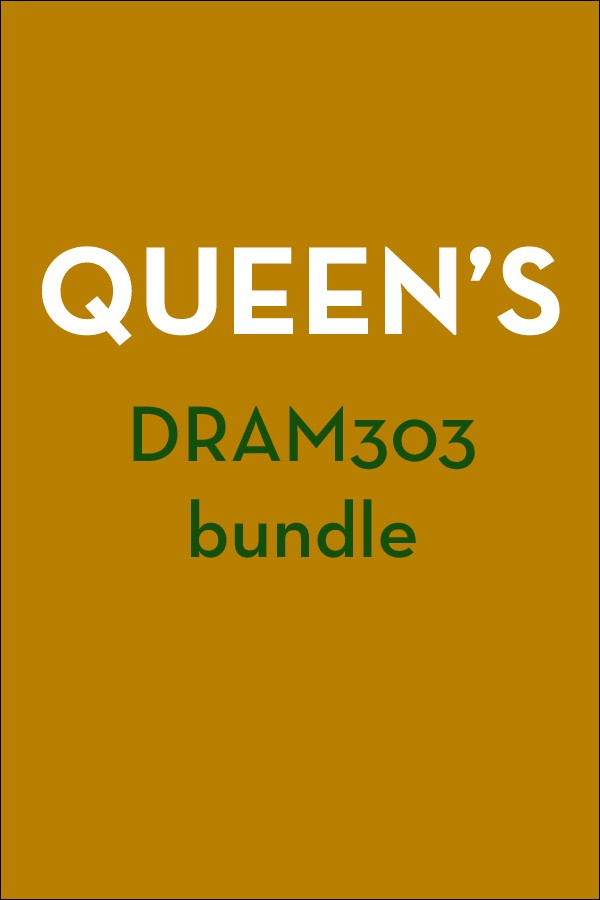 Queen's DRAM303: First Nations Playwrights Bundle