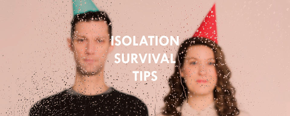 Isolation survival tips from Straight Jacket Winter