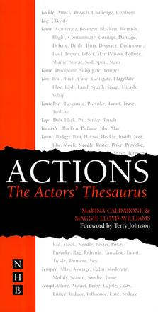 Actions - The Actor's Thesaurus